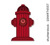 hydrant emergency equipment | Shutterstock .eps vector #1044974557