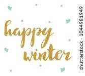 hand lettering . background...   Shutterstock .eps vector #1044981949