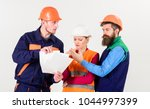 labor dispute concept. team of... | Shutterstock . vector #1044997399