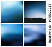 abstract vector blue black...   Shutterstock .eps vector #1045022215