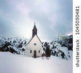 seiser alm in italian alps. | Shutterstock . vector #1045050481