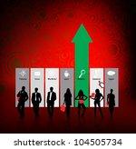 business concept | Shutterstock .eps vector #104505734