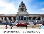 havana  cuba   december 12 ... | Shutterstock . vector #1045058779