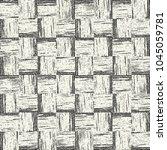 abstract monochrome grain... | Shutterstock .eps vector #1045059781