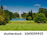lednice  south moravian region  ... | Shutterstock . vector #1045059925