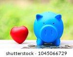 saving money for lover or... | Shutterstock . vector #1045066729