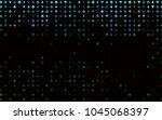 dark blue  green vector cover... | Shutterstock .eps vector #1045068397