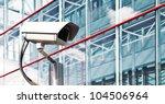 security camera in a modern... | Shutterstock . vector #104506964