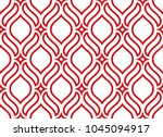 the geometric pattern with wavy ... | Shutterstock .eps vector #1045094917