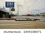 ocean city  maryland  usa ... | Shutterstock . vector #1045108471
