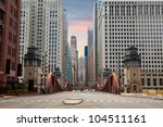 Street Of Chicago. Image Of...