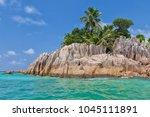 beautiful tropical st. pierre...   Shutterstock . vector #1045111891