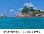 beautiful tropical st. pierre...   Shutterstock . vector #1045111951