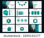 green bundle presentation... | Shutterstock .eps vector #1045132177