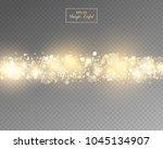 vector eps 10 isolated yellow... | Shutterstock .eps vector #1045134907
