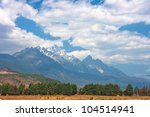 natural beauty in lijiang china ... | Shutterstock . vector #104514941