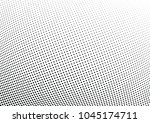 abstract halftone wave dotted... | Shutterstock .eps vector #1045174711