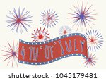 retro vintage invitation poster ... | Shutterstock .eps vector #1045179481