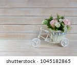 Composition With Flowers And A...