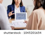 highly professional estate...   Shutterstock . vector #1045201654