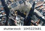 aerial bird view photo... | Shutterstock . vector #1045225681