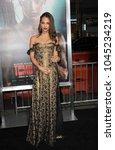 alicia vikander at the los... | Shutterstock . vector #1045234219