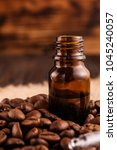 essential oil of coffee beans... | Shutterstock . vector #1045240057