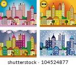 seasons   Shutterstock . vector #104524877