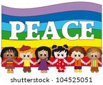 peace | Shutterstock . vector #104525051