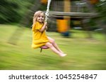 Little Girl In Yellow Dress...