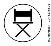director chair icon | Shutterstock .eps vector #1045275631