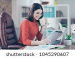 online lifestyle modern... | Shutterstock . vector #1045290607