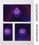 linear banner with... | Shutterstock .eps vector #1045295251