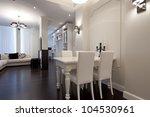 Interior Of Designer Living Room