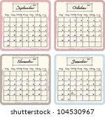 Handwritten 2013 Calendar With...