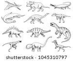 Dinosaurs Set  Tyrannosaurus...