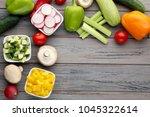 Fresh Sliced Vegetables In...