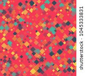 rhombus backdrop minimal... | Shutterstock .eps vector #1045333831