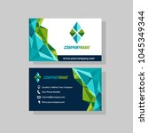business name card | Shutterstock .eps vector #1045349344