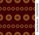 endless abstract pattern.... | Shutterstock .eps vector #1045353181