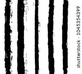 black and white paint lines... | Shutterstock .eps vector #1045354399