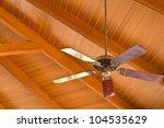 Ceiling Fan In The Lobby Of Th...