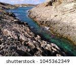 comino island blue lagoon....   Shutterstock . vector #1045362349