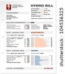hydro electricity utilities...   Shutterstock .eps vector #104536325