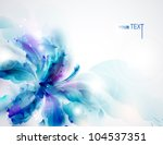 background with blue abstract...