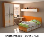 childroom  interior modern... | Shutterstock . vector #10453768