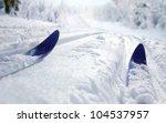 cross country ski | Shutterstock . vector #104537957