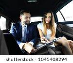 business people meeting working ... | Shutterstock . vector #1045408294