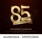 85th years anniversary... | Shutterstock .eps vector #1045413664