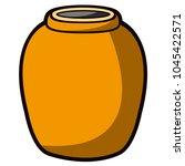 empty flower pot icon   Shutterstock .eps vector #1045422571